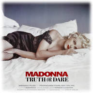 Truth or Dare by Madonna Naked - Truth or Dare Naked Madonna poster