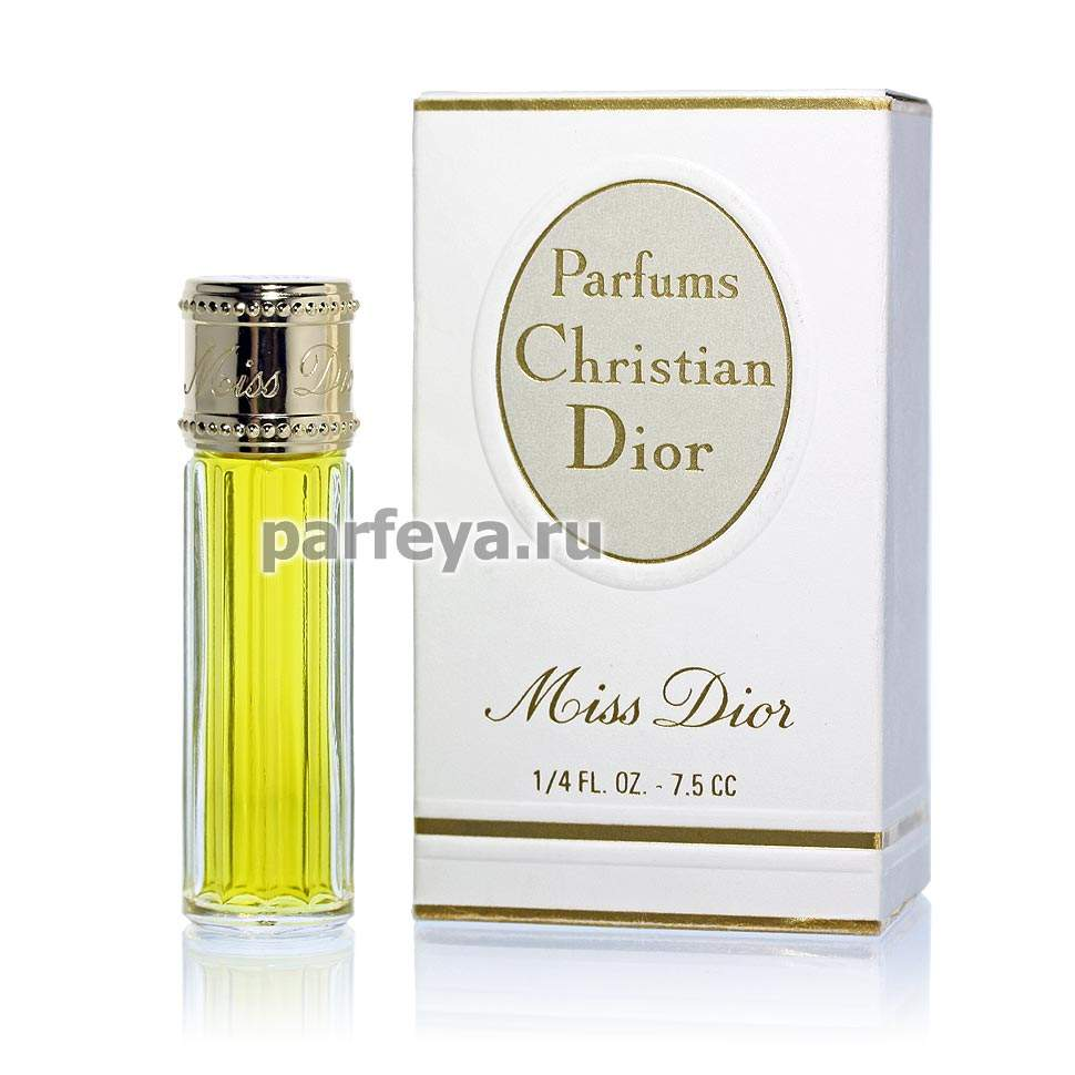 Miss Dior Christian Dior купить винтажные духи мисс диор кристиан диор